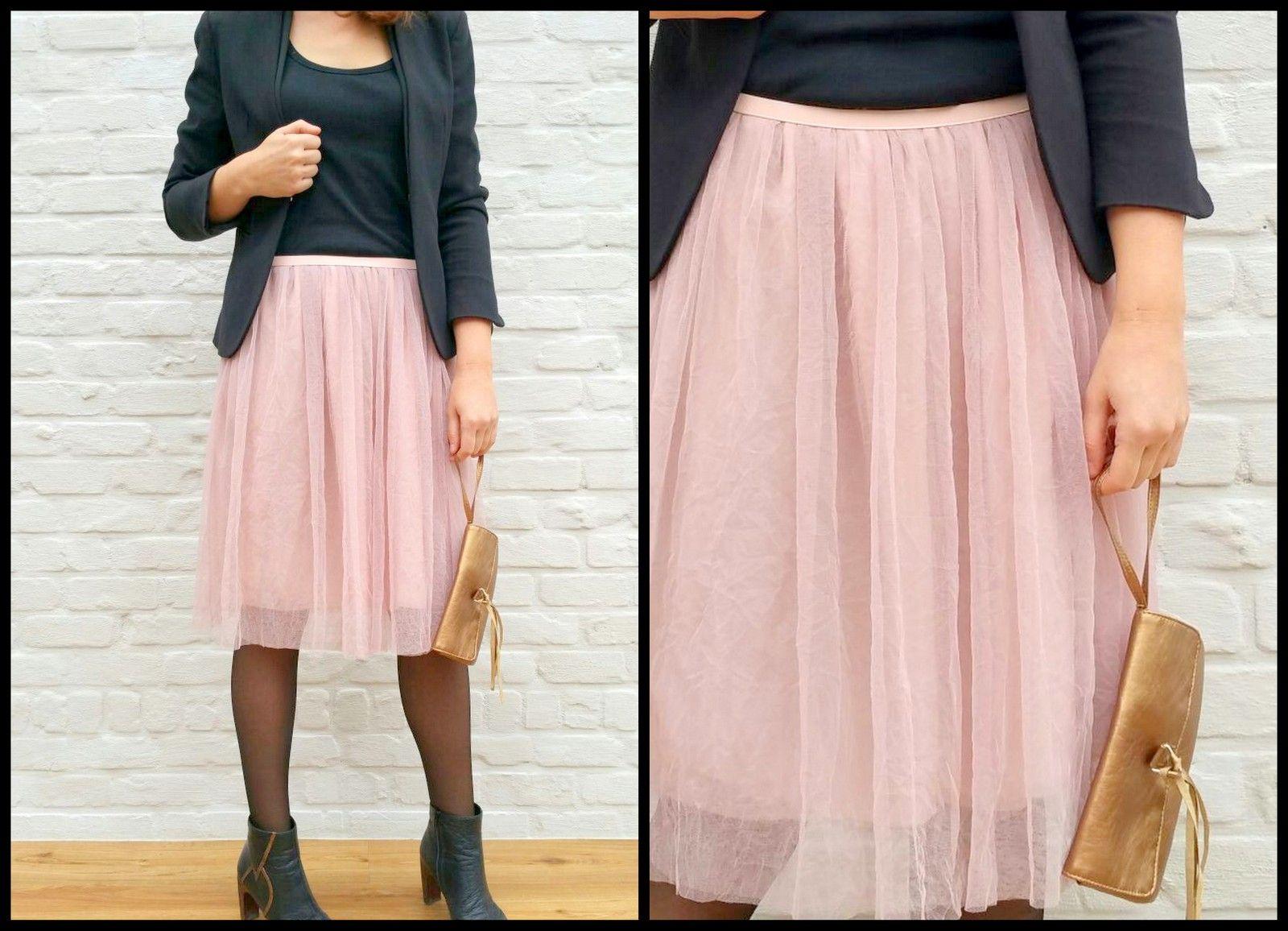 7e65e596a24c7e tule chiffon skirt (preppy) Chiffon Rok