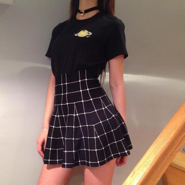 tumblr high waisted skirt outfits wwwpixsharkcom