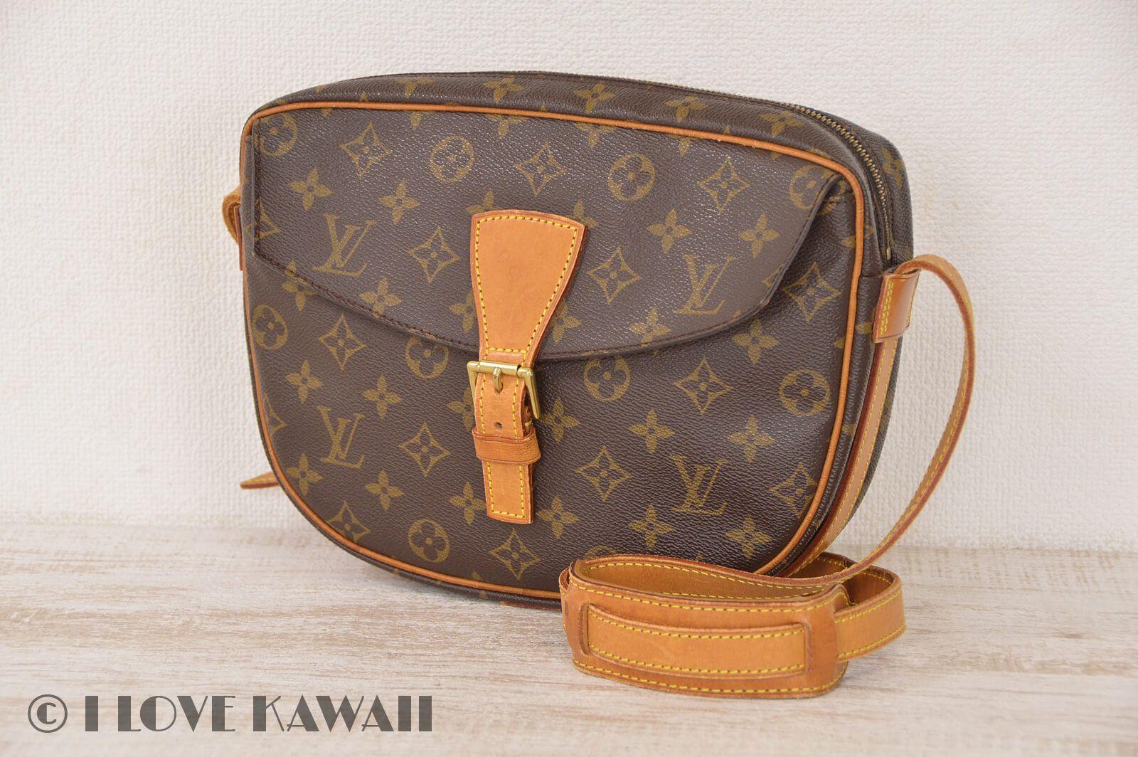2079dafd013d Louis Vuitton Monogram Jeune Fille GM Shoulder Bag M51226 | Louis ...