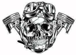 2035e4e8f8 Image result for harley davidson skull logo vector | H@rLeY D ...