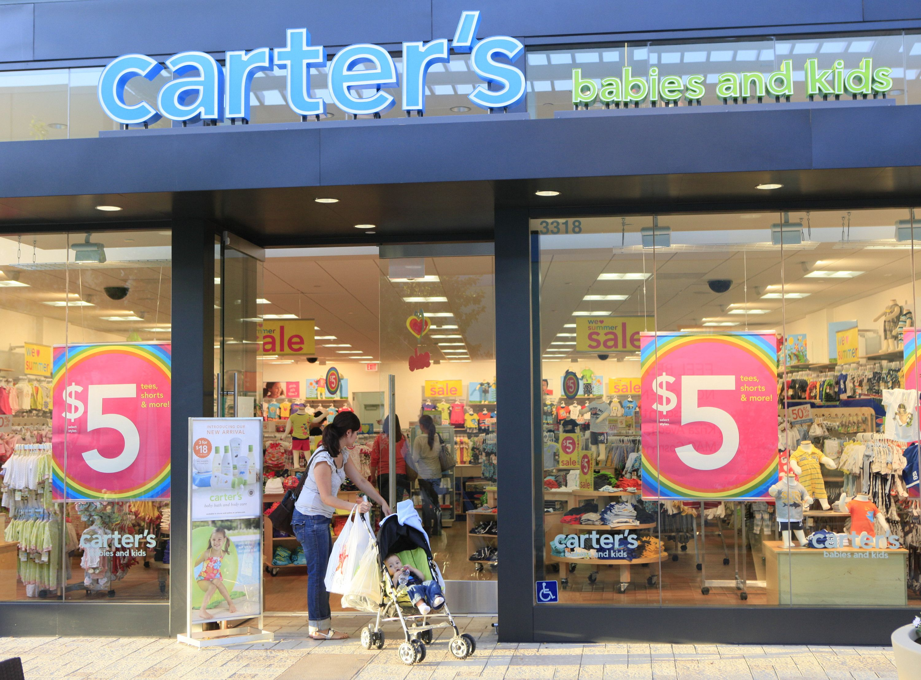 Carters Store Customers At The Carter S Store At The