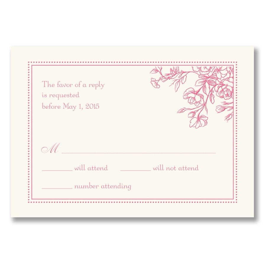 reply card with images  wedding reception invitations