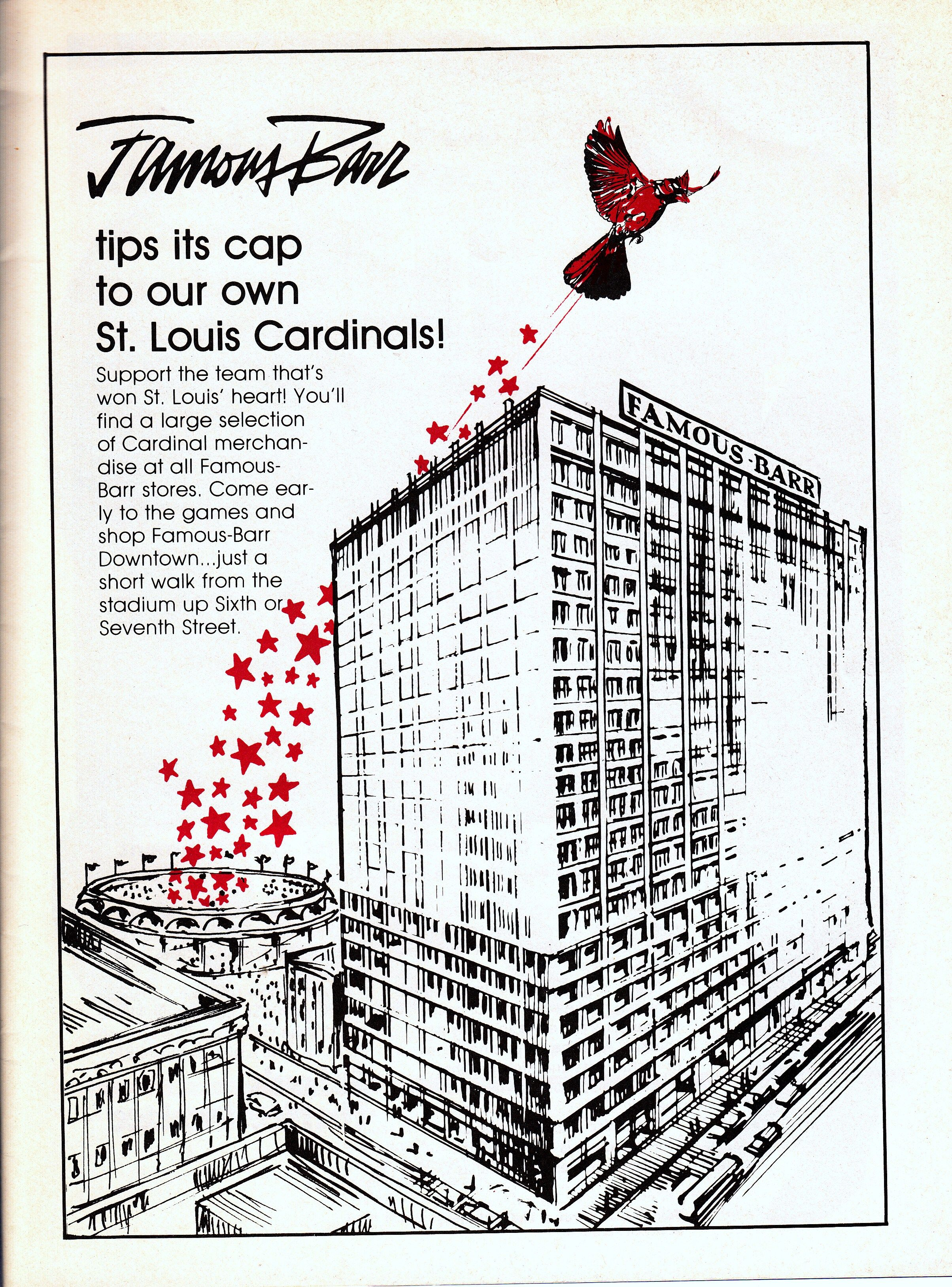 Famousbarr ad 1982tribute to the 1982 world series