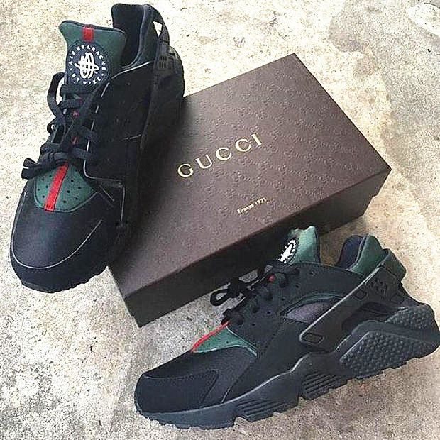 best cheap 454c3 b37a4 Nike Gucci Drops the Air Huarache Ultra Sports shoes ...