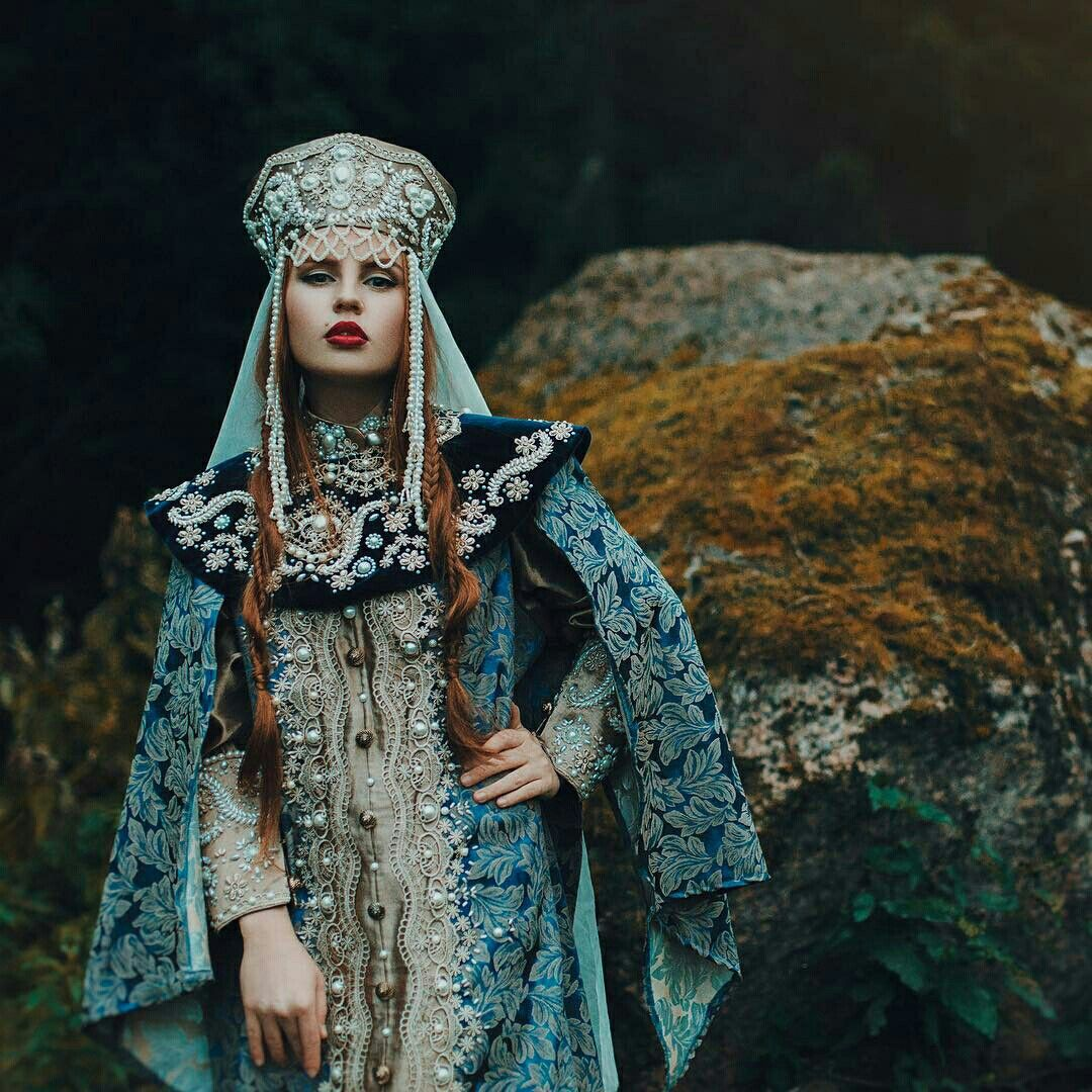 Russian Fashion, Russian Traditional Dress