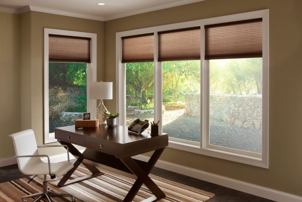 Motorized Window Shades Remote Control Cellular Motorized Shades Serena Shades By Lutron Window Treatments Home Window Shades