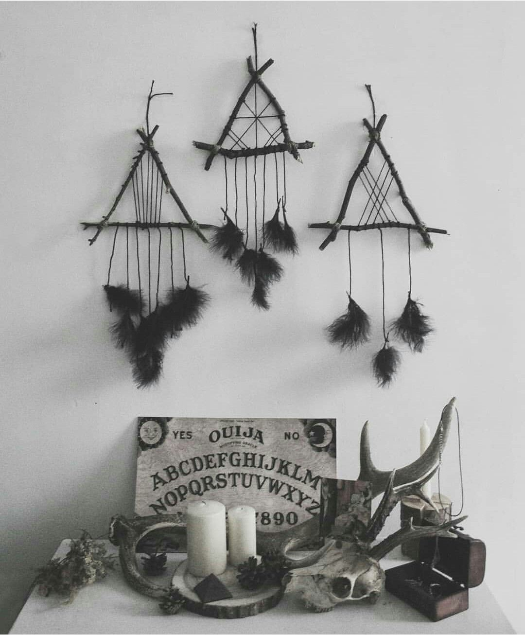 Pagan Home Decor: Pin By Snagglebit Ink Art On Black And White
