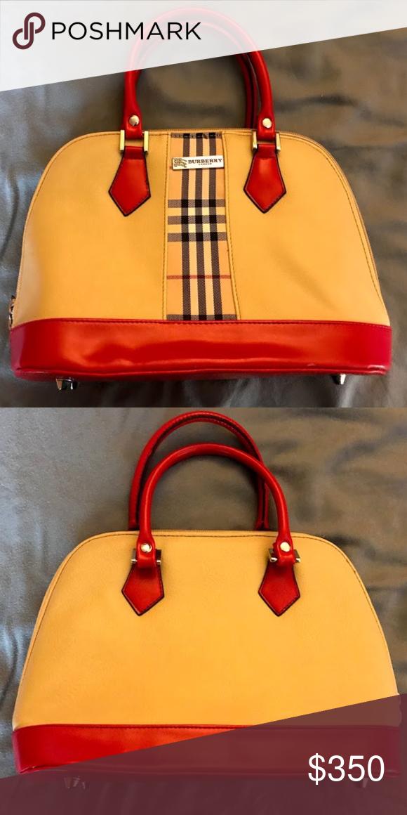 8da34634d43 Burberry Handbag Beautiful Burberry Handbag, excellent condition. Burberry  Bags  Burberryhandbags