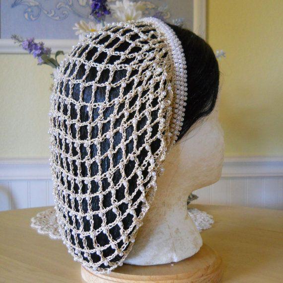 Borgia Inspired Beaded Snood Hair Net - The Lucrezia | Snoods ...