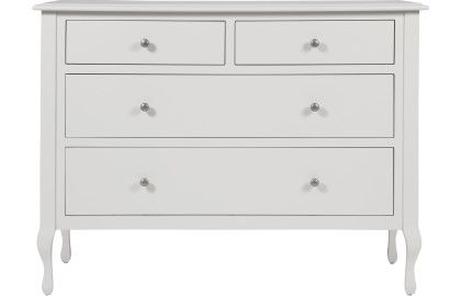 Rosalind Dove Grey Wide Chest of Drawers