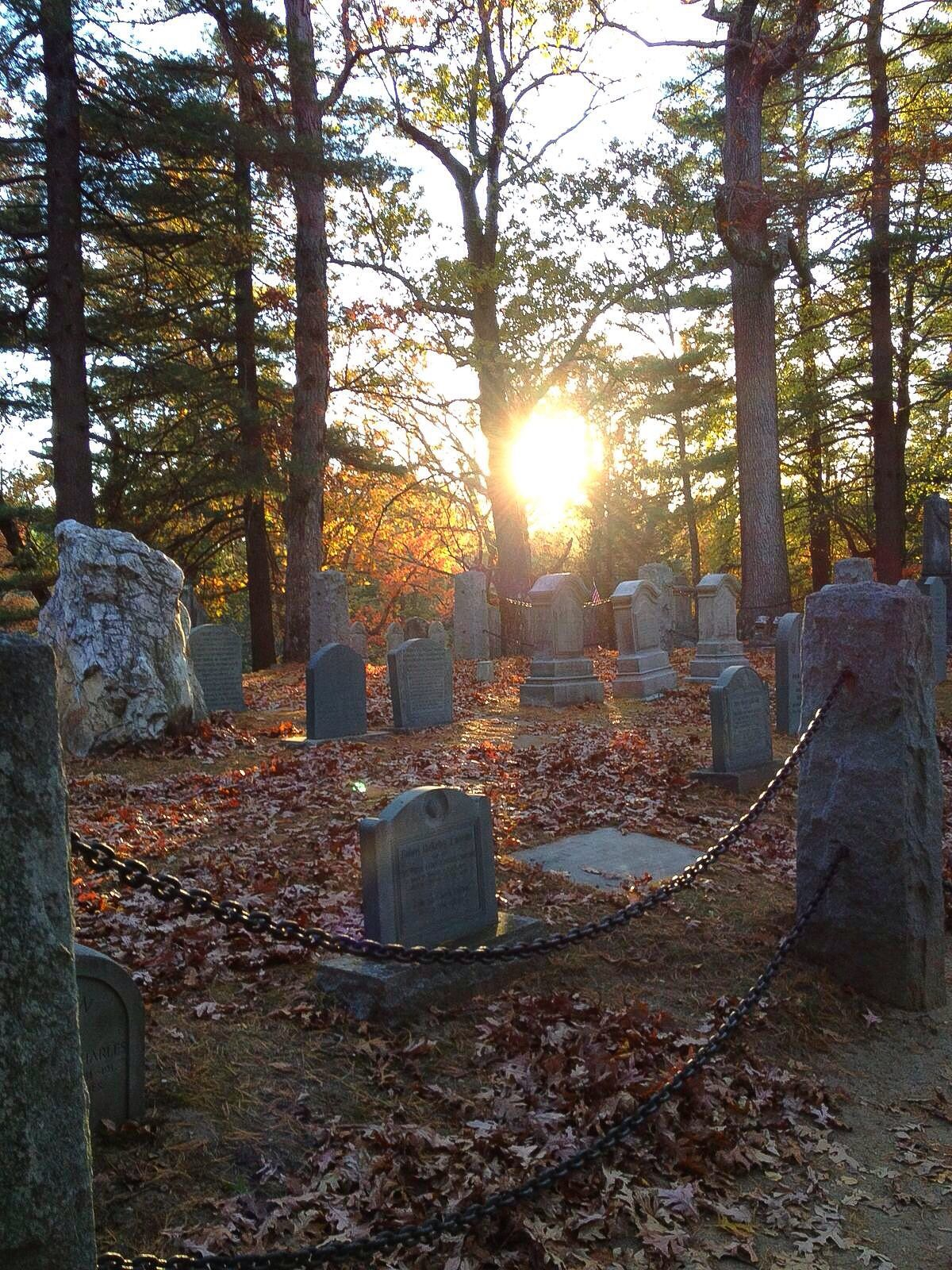 Sleepy Hollow Cemetery   Where Concords Legends Lie