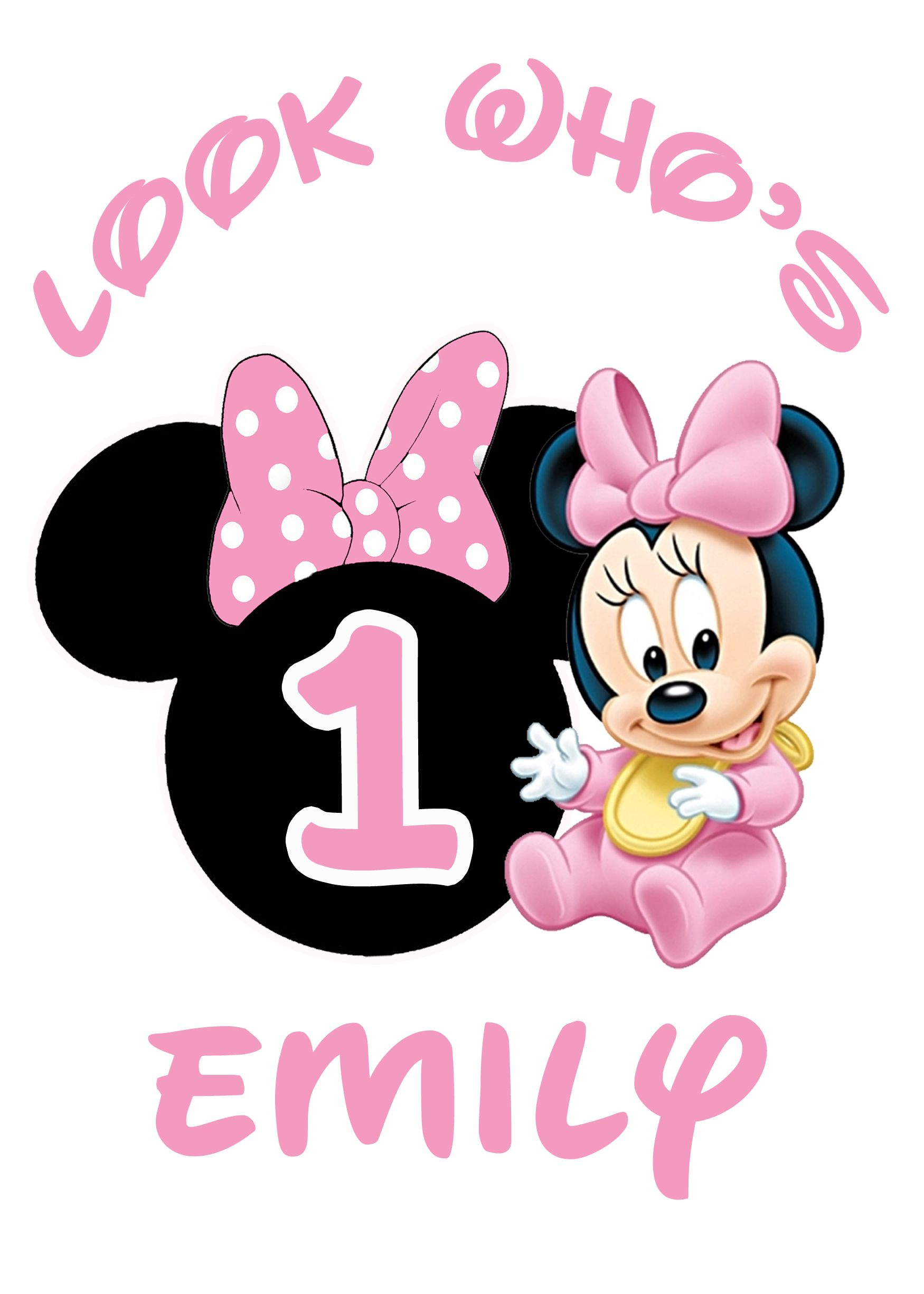 Pin On Minnie Mouse Birthday Invitations And Party Supplies