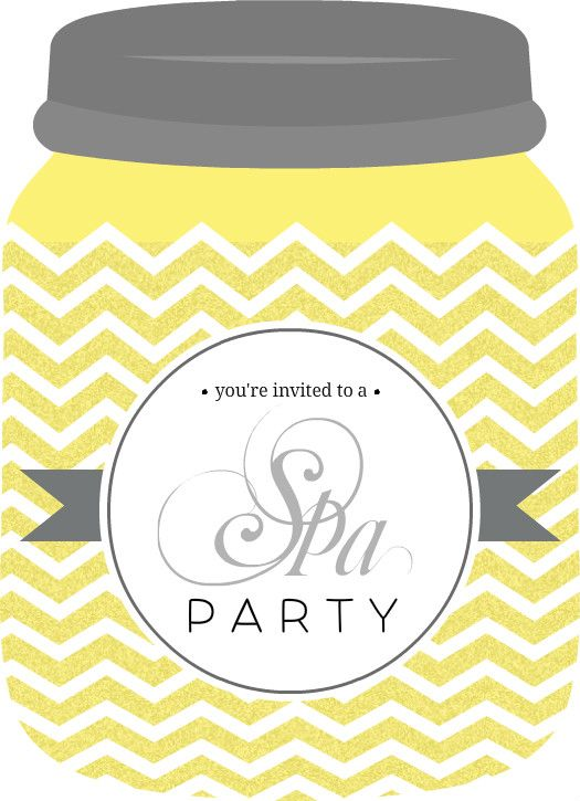 spa party invitation template free - Google Search Teen Spa - invitation template free