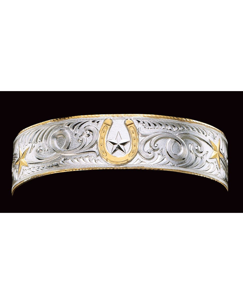 Montana silversmiths horshoe star braceleti actually have this