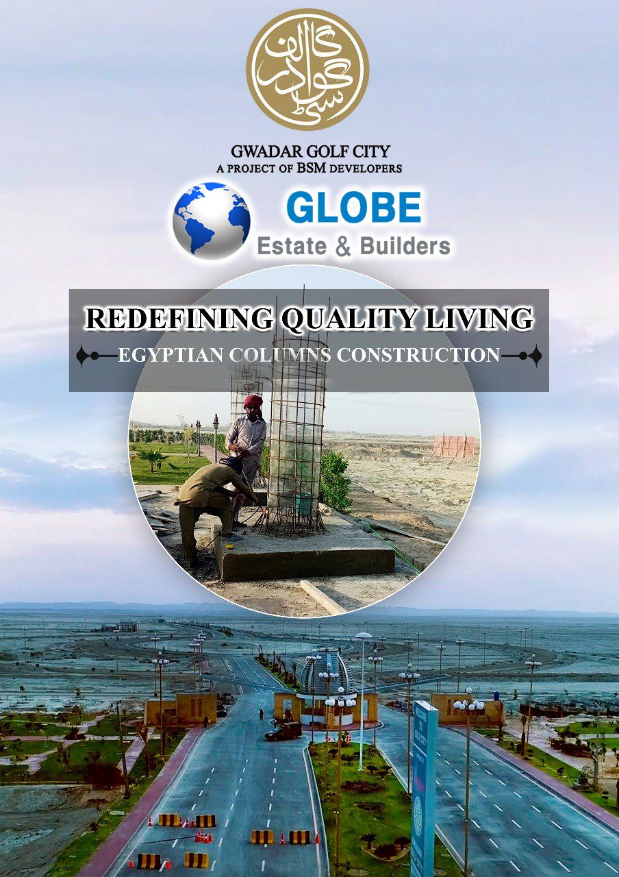 Gwadar golf city is constructing one of the most iconic