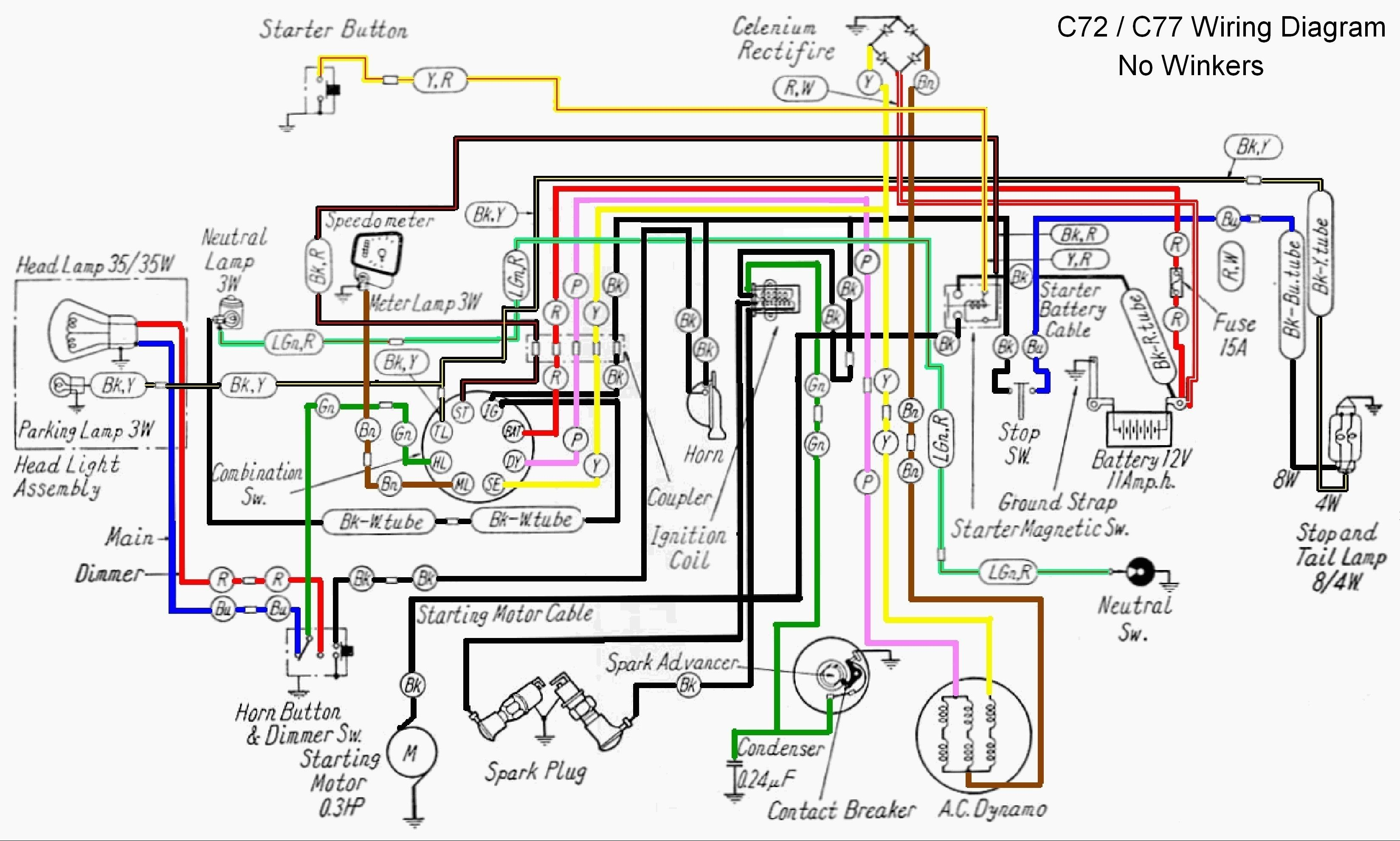 Unique Wiring Diagram Kelistrikan Ac Diagram Diagramtemplate Diagramsample Motorcycle Wiring Honda Motorcycles Honda Ex5