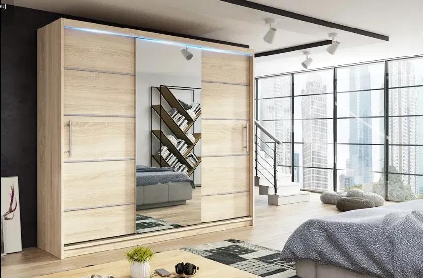 Szafa Garderoba Przesuwna Trzydrzwiowa Moli 180cm Z Lustrem Bydgoszcz Olx Pl Home Decor Home Furniture