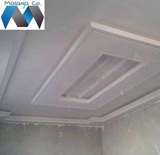 شركة ملقا للمقاولات العامة Malaga Kw Photos Via Instagram Ceiling Design False Ceiling Design Ceiling Design Modern