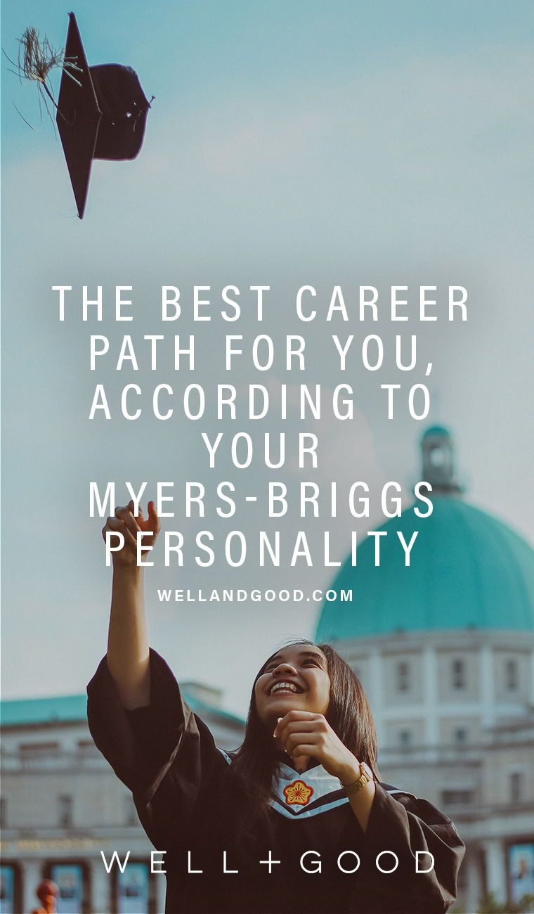 your best career according to your myers