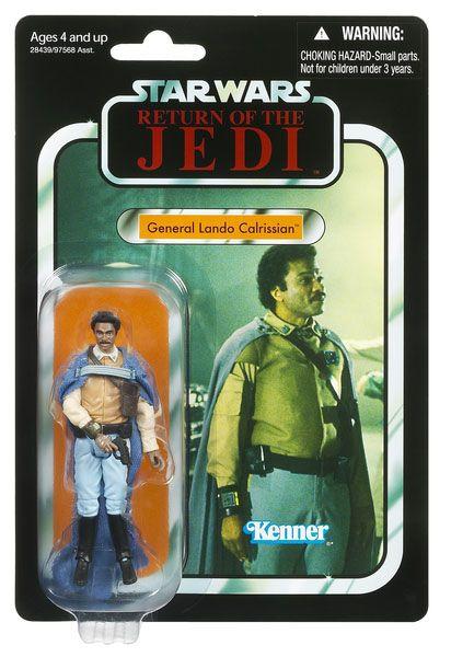 Vintage-Style Carded General Lando Calrissian