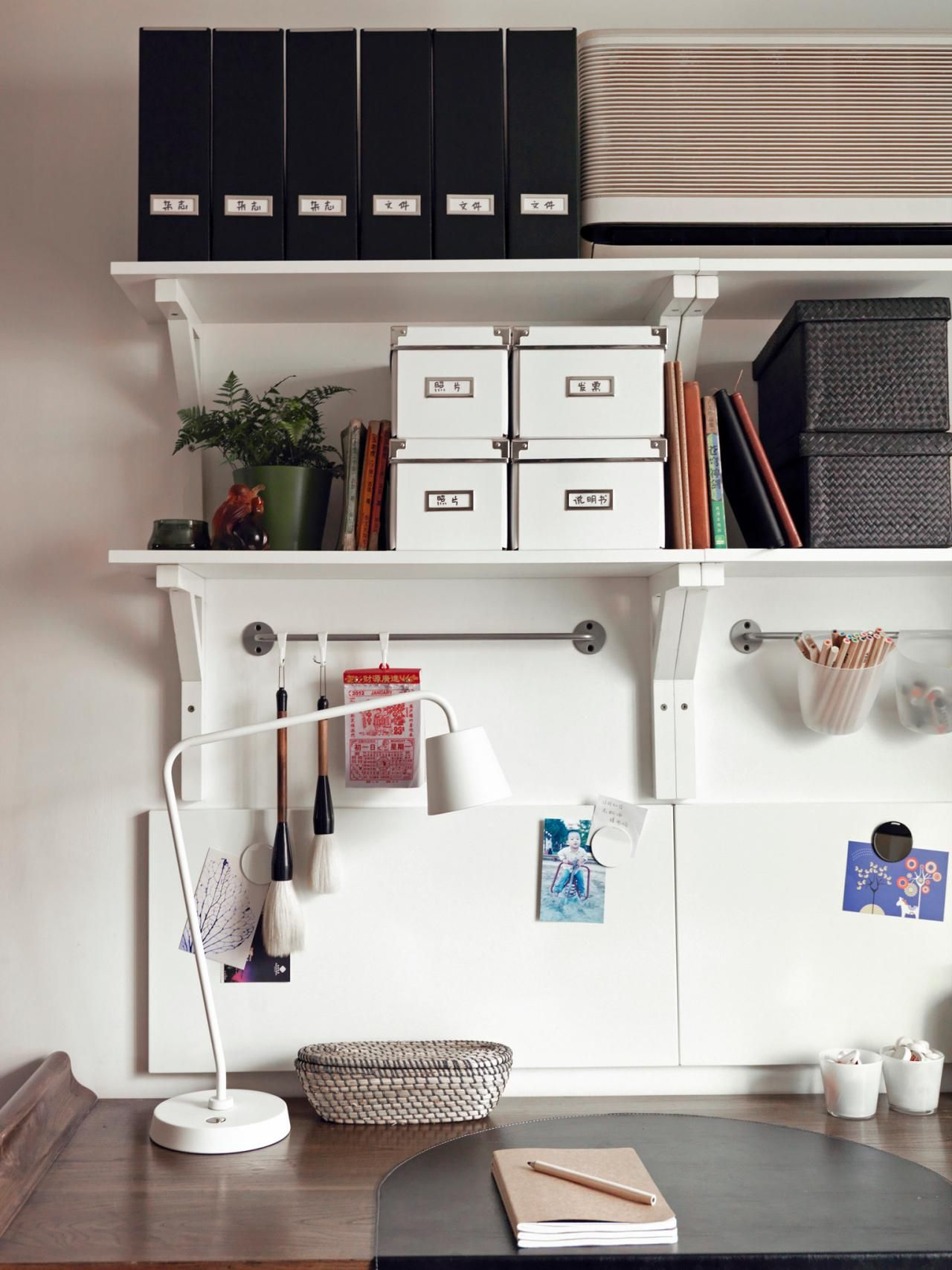 Dorm Room Styles: Desk Organization Ideas For Dorm Rooms >> Http://www.hgtv