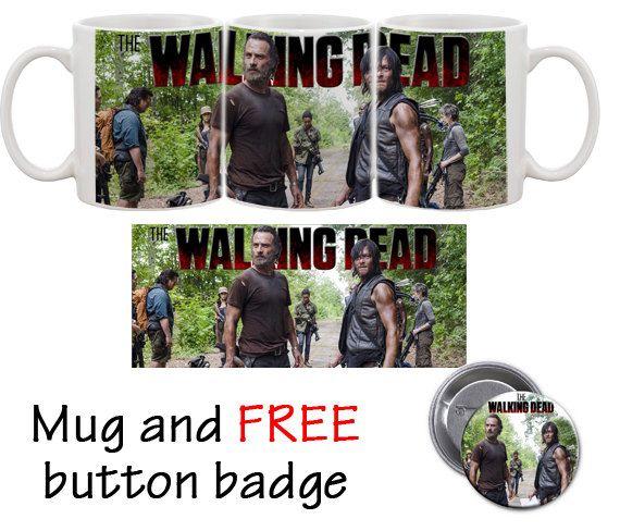Mug Wаlking Dead, Rick and Daryl, coffe mug, for gift, Wаlking Dead mug by MugGift on Etsy
