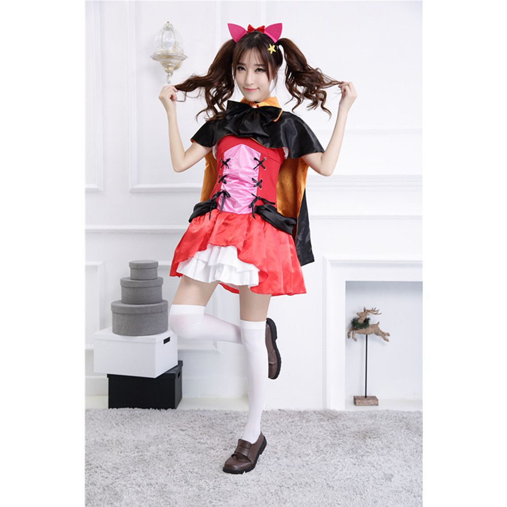 Discover ideas about Maid Halloween  sc 1 st  Pinterest & New Love Live Anime Maid Cosplay Costumes Halloween Costume Witch ...