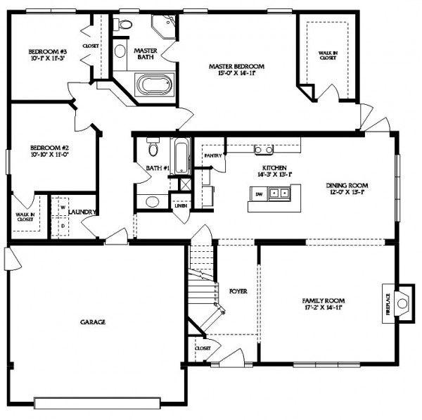 Bainbridge modular home floor plans house large barndominium also in pinterest homes rh