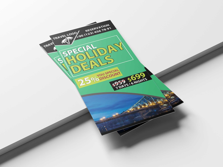 free download tri fold travel brochure template brochure