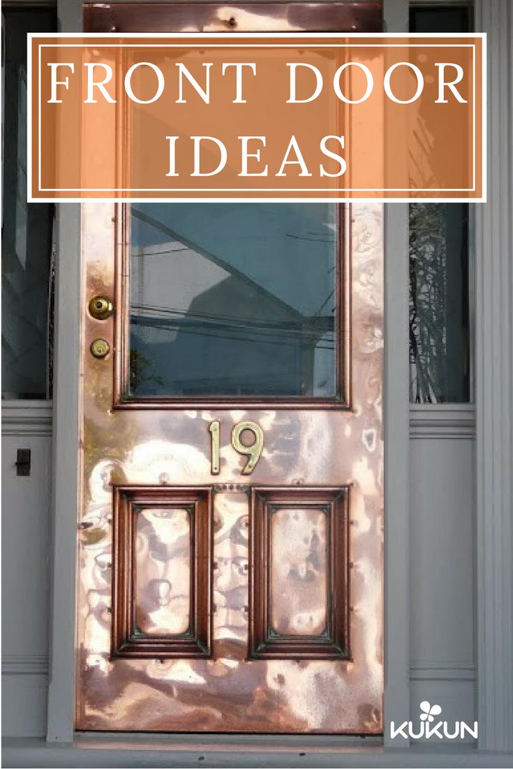 Five Front Door Tips To Boost Your Home S Curb Appeal Kukun Painted Front Doors Metal Front Door Front Door