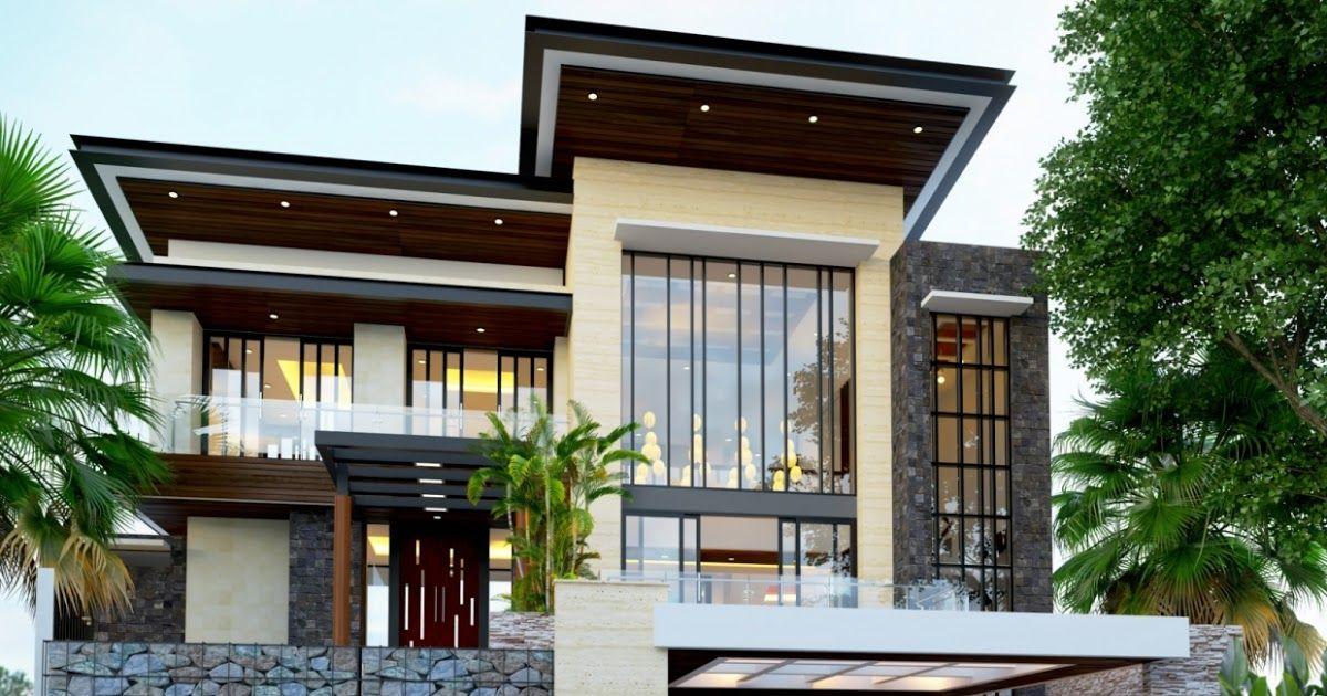 Idaman Konsep Rumah Minimalis Nan Mewah Desain Rumah Minimalis Mewah Dan Modern 1 Lantai House Rumah Minimalis Mewah Terbaru Si House Styles House Mansions