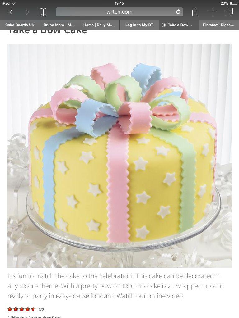 Bow Cake Tort 3 Cake Bow Cakes Cake Decorating Books