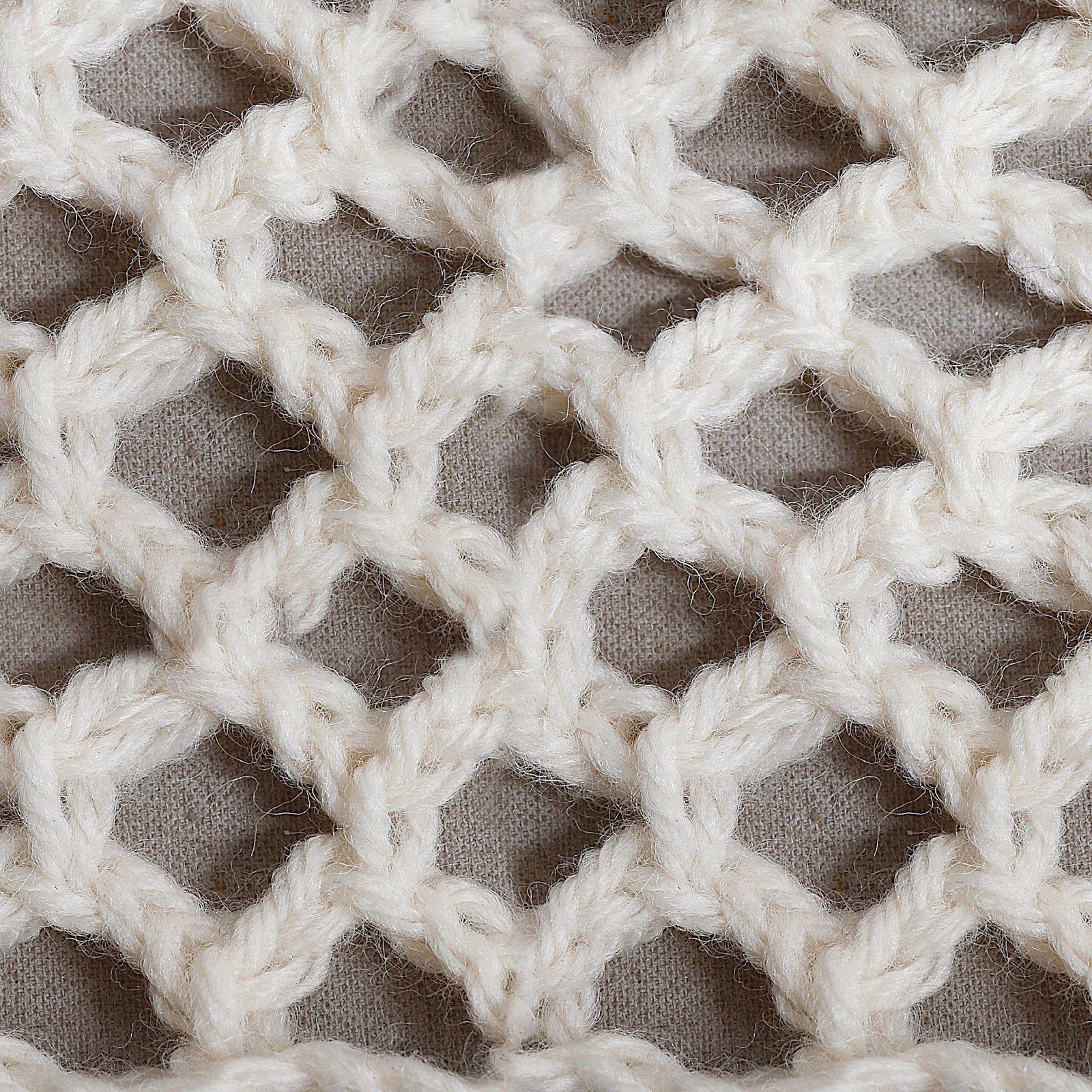 Mi ganchillo tunecino: Puntadas de encaje | crochet tunecino ...