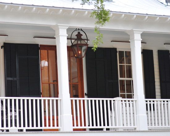 Charleston Green Shutters Sherwin Williams Historic Charleston Collection With Images House Exterior Exterior House Colors
