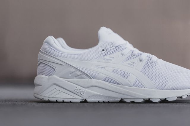 hot sale online ecc2a 12d30 ASICS GEL KAYANO EVO TRAINER (TRIPLE WHITE) - Sneaker ...