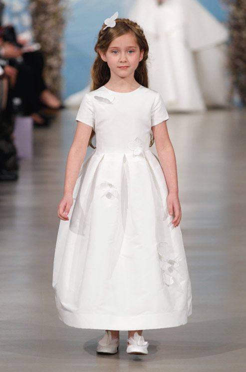 Oscar De La Renta, Spring 2014 | Ring Bearers and Flower Girls ...
