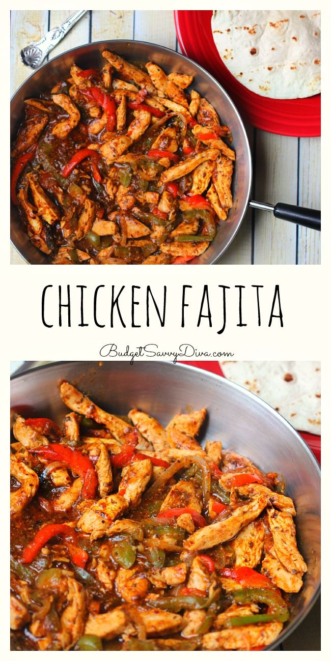 Chicken Fajita Recipe Recipe Chicken Fajita Recipe Fajita Recipe Mexican Food Recipes Authentic