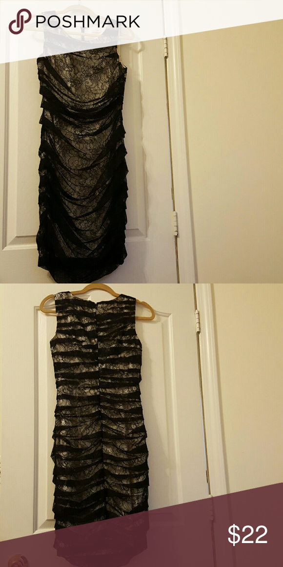*SALE*Calvin Klein Lace Dress Calvin Klein black lace dress. Never worn. No snags Calvin Klein Dresses