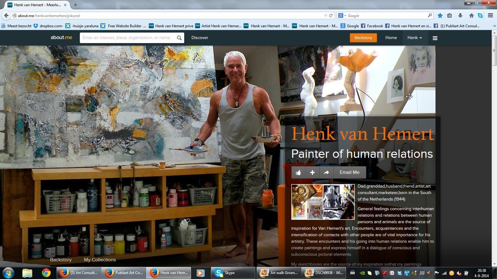 Henk van Hemert en zijn Kunst