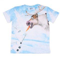 FROZEN ~ Olaf & Sven T-Shirt una camisa para Isaac