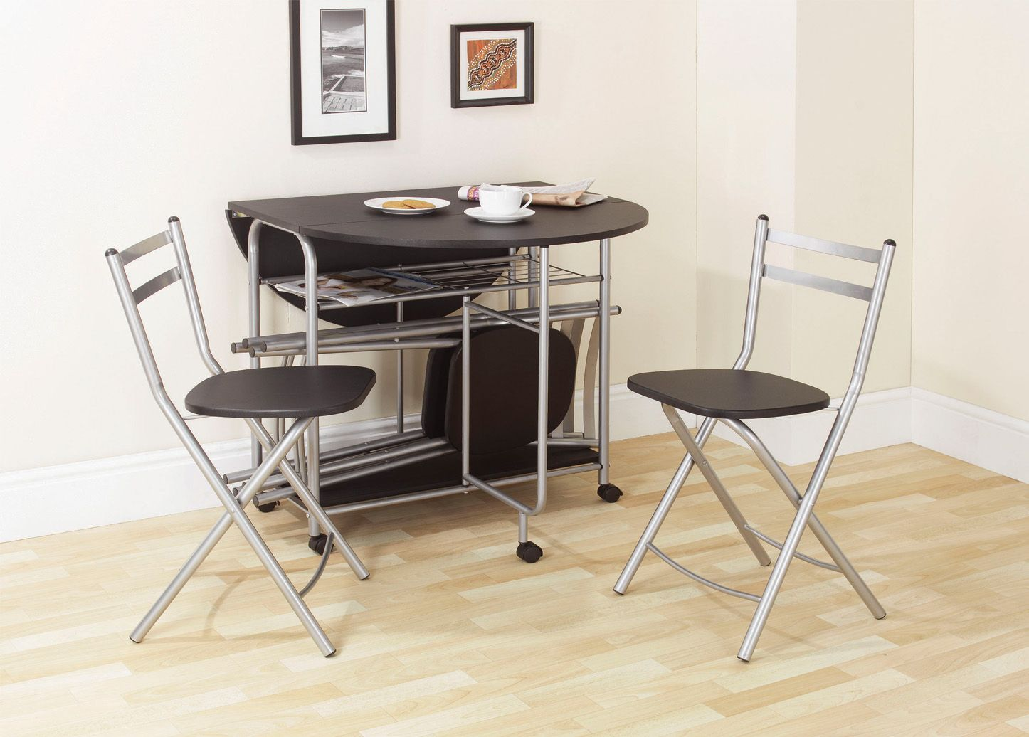 Portrayal of Space Saver Dining Set Perfect Dining Room Ideas