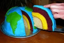 Edible Layers Of The Earth Project Im Thinking Chocolate Inner
