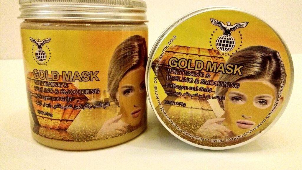 قناع الذهب والكولاجين لتنعيم وتقشير وتبيض البشره الآن بـ40ريال والكمية محدوده اقنعة مكياج عناية اهتمام المدينة جده Candle Jars Gold Mask Jar