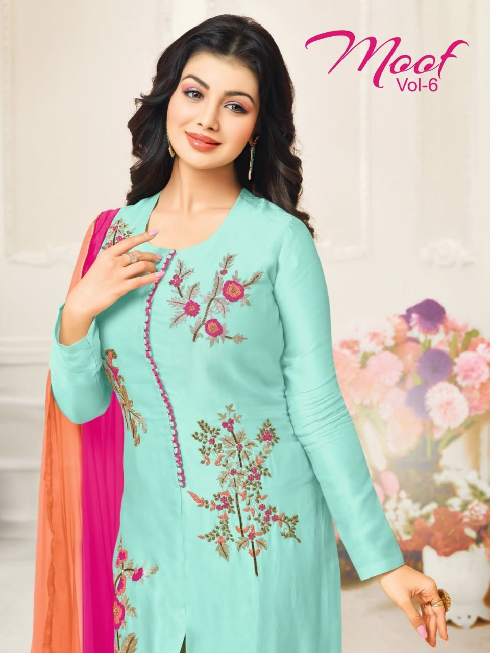 8c2ed944b4 Moof vol 6 Glace Cotton Suit Wholesale(10 pc catalog ) | Designer ...