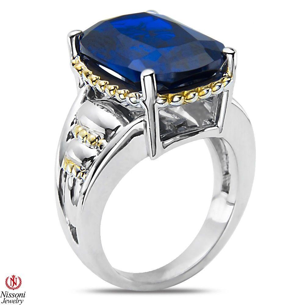 NissoniJewelry.com presents - Blue Spinel Fashion Ring in Sterlig Silver    Model Number:FR8038-SIBSN    Price:$89.99    https://nissonijewelry.com/jewelry/blue-spinel-fashion-ring-in-sterlig-silver/fr8038-sibsn.html