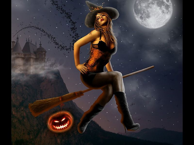 233 best Halloween images on Pinterest  Halloween witches