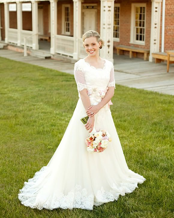 Pin By The Modest Bride On Modest Wedding Gowns