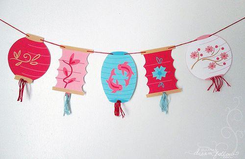 2 Packungen Mexikanische Party Filz Banner Multifarbe Fiesta Banner 13 Fu/ß Filz Papel Picado H/ängend Banner Gro/ße Mexikanische Fiesta Bunting
