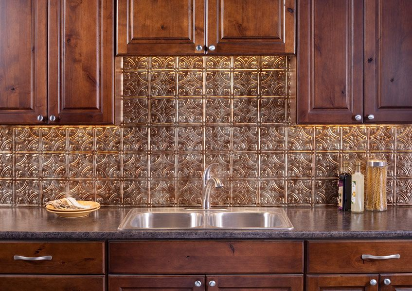 thermoplastic panels kitchen backsplash fasade backsplash traditional 1 in bermuda bronze 6095
