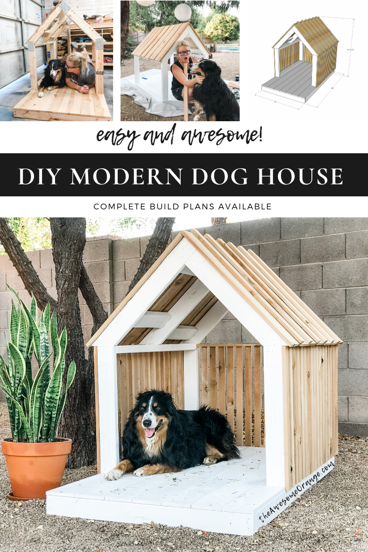DIY Modern Dog House for Oscar — the Awesome Orange